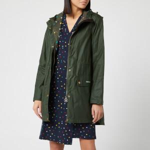 Barbour X Emma Bridgewater Women's Underwood Waxed Jacket - Duffle Bag/Spot