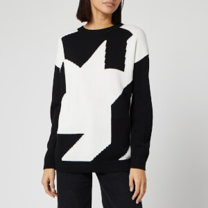 HUGO Women's Siginy Jumper - Black/White