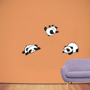 Rolling Panda's Wall Art Sticker Pack
