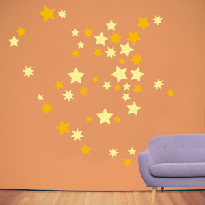 Starry Wall Wall Art Sticker Pack