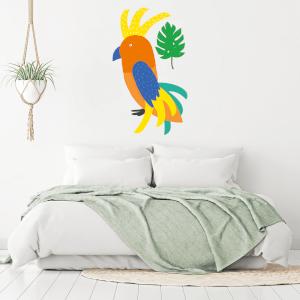 Tropical Bird Wall Art Sticker