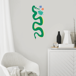 Snake Wall Art Sticker