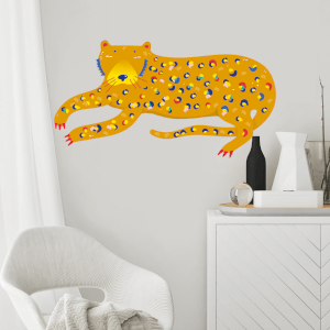 Cheetah Wall Art Sticker