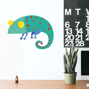 Gecko Wall Art Sticker