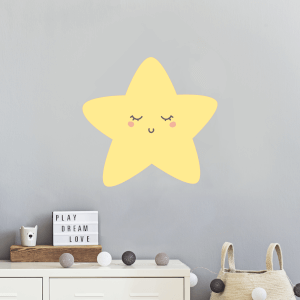 Cute Star Wall Art Sticker