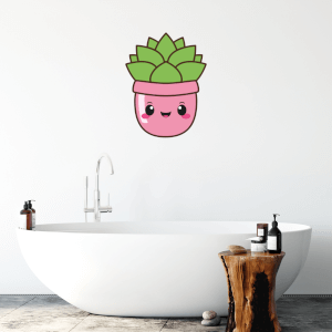 Succulent Wall Art Sticker