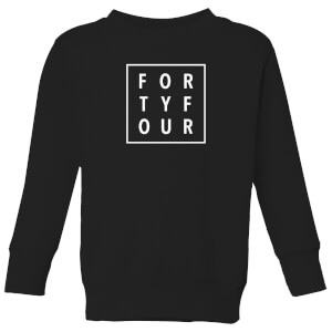 How Ridiculous Forty Four Square Kids' Sweatshirt - Black