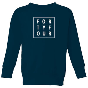 How Ridiculous Forty Four Square Kids' Sweatshirt - Navy