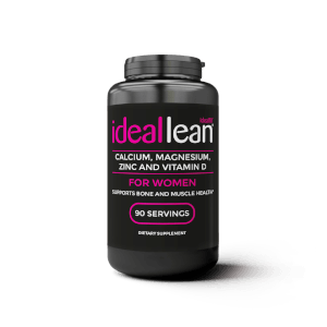 IdealLean Calcium & Magnesium + Zinc & Vitamin D3, 90 Servings
