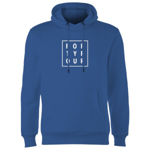 How Ridiculous Forty Four Square Hoodie - Royal Blue