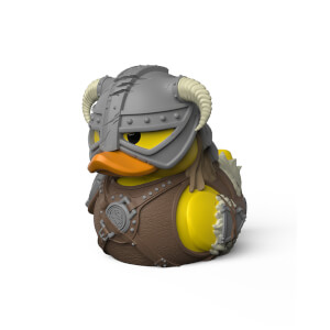 Skyrim Tubbz Collectible Duck - Dovahklin