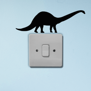 Dinosaur Light Switch Art