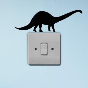 Dinosaur Light Switch Art