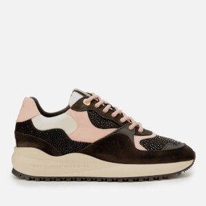 Android Femme Women's Santa Monica Chunky Running Style Trainers - Carbon/Blus