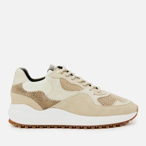 Android Femme Women's Santa Monica Chunky Running Style Trainers - Sand