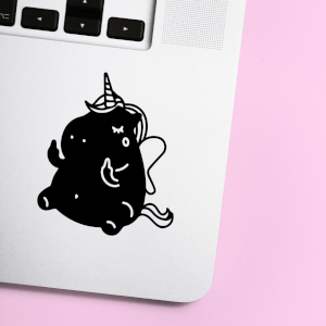 F**k You Unicorn Laptop Sticker