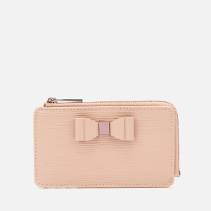 Ted Baker Women's Blueb Zip Card Holder - Taupe
