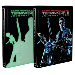 Terminator 2: Judgment Day 4K Ultra HD Zavvi UK Exclusive Steelbook (Includes 2D Blu-ray) *Glow in the Dark*