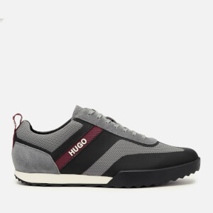 HUGO Men's Matrix Low Profile Running Style Trainers - Grey