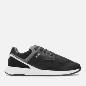 BOSS Men's Titanium Nylon Running Style Trainers - Black