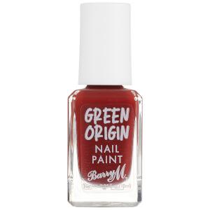Barry M Cosmetics Green Origin Nail Paint Red Sea