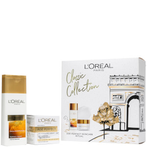 L'Oréal Paris Women's Age Perfect Cleanser and Day Cream Gift Set (Worth £16.98)