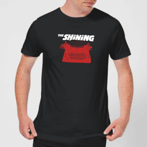 The Shining Red Typewriter Men's T-Shirt - Black