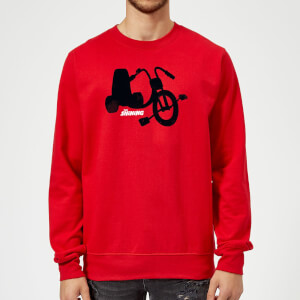 The Shining Danny's Tricycle Sweatshirt - Red