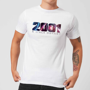 2001: A Space Odyssey HAL Logo Men's T-Shirt - White