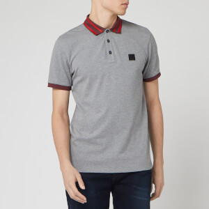 BOSS Men's Premixt Polo Shirt - Grey
