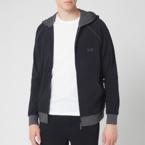 BOSS Hugo Boss Men's Mix and Match Hoodie - Black Charcoal