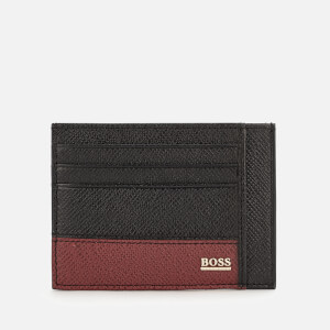 BOSS Hugo Boss Men's Signature Card Holder - Black
