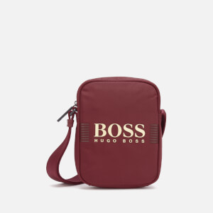 BOSS Hugo Boss Men's Pixel Cross Body Bag - Burgundy