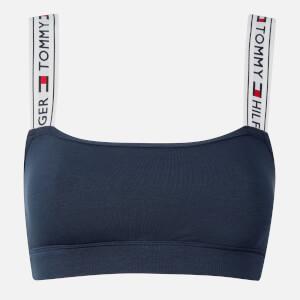 Tommy Hilfiger Women's Logo Bralette - Navy Blazer