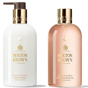 Molton Brown Jasmine and Sun Rose Bundle