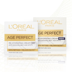 L'Oréal Paris Age Perfect Skincare Set Regime for Mature Skin (Worth £24.98)
