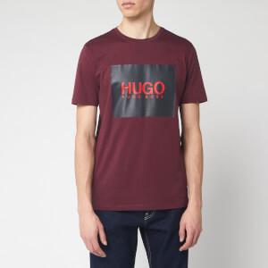HUGO Men's Dolive 201 T-Shirt - Dark Red