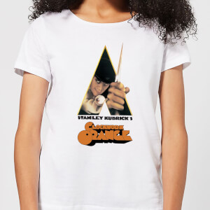 A Clockwork Orange Poster Women's T-Shirt - White