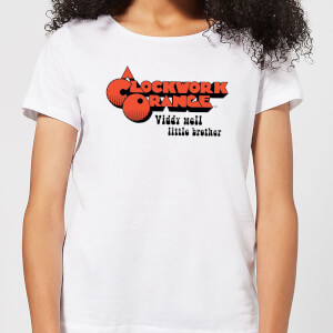 A Clockwork Orange Viddy Well Little Brother Women's T-Shirt - White