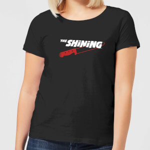 The Shining Red Knife Women's T-Shirt - Black