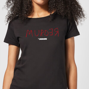 The Shining Murder Black Women's T-Shirt - Black