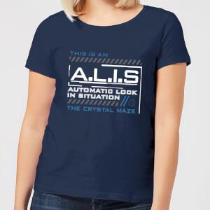 Crystal Maze A.L.I.S. Women's T-Shirt - Navy