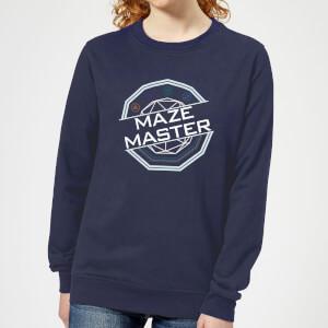 Crystal Maze Maze Master Women's Sweatshirt - Navy