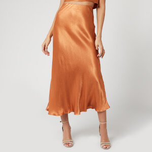 Bec & Bridge Women's Lani Midi Skirt - Caramel