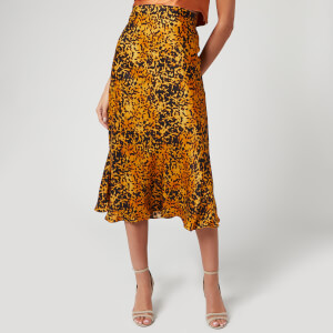 Bec & Bridge Women's Turtle Rock Midi Skirt - Tortoise Print