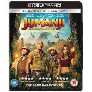 Jumanji: Welcome To The Jungle - 4K Ultra HD (Includes Blu-ray)