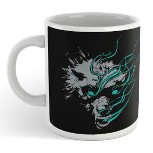 Magic The Gathering Throne of Eldraine Big Bad Wolf mug