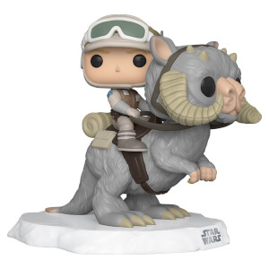 Star Wars Empire Strikes Back Luke Skywalker on Taun Taun Funko Pop! Deluxe
