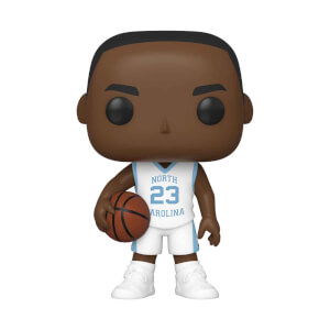 UNC Michael Jordan Away Jersey Pop! Vinyl Figure