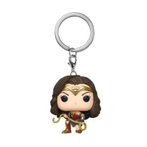 Wonder Woman 1984 With Lasso Funko Pop! Keychain